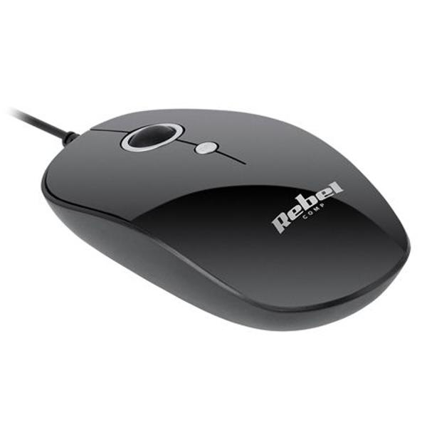 MOUSE CU FIR WDM100 REBEL