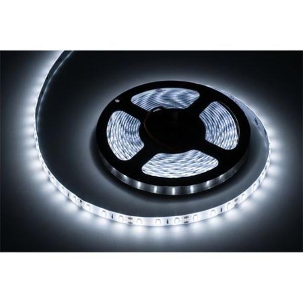 BANDA LED 5M IP65 ALB RECE REBEL
