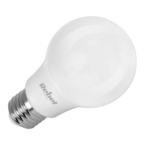 BEC LED A60 9W E27 4000K 230V REBEL
