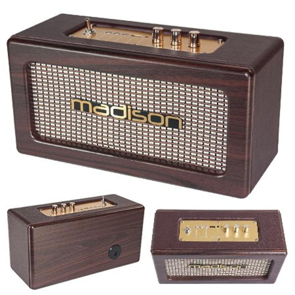 BOXA BLUETOOTH MODEL VINTAGE 2X10W MADISON