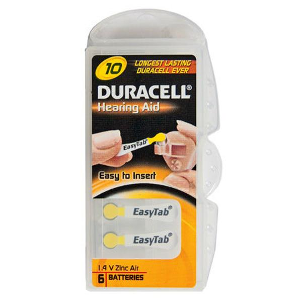 BATERIE AUDITIVA DURACELL BLISTER 6 BUC