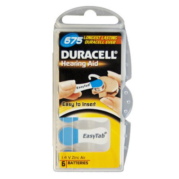 BATERIE AUDITIVA DURACELL 675 BLISTER 6 BUC