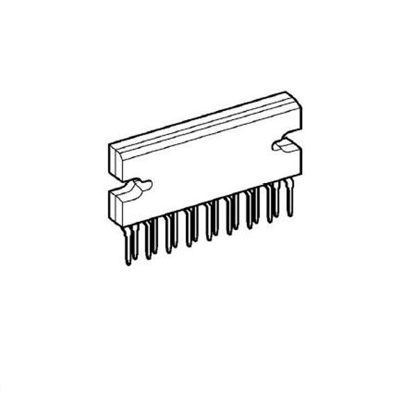 amplificator audio 2x20w ta8210ah  circuite integrate