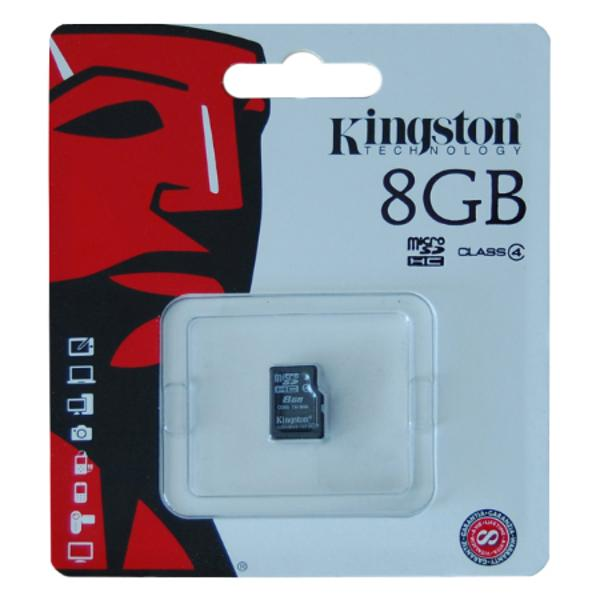 MICRO SD CARD 8GB KINGSTON
