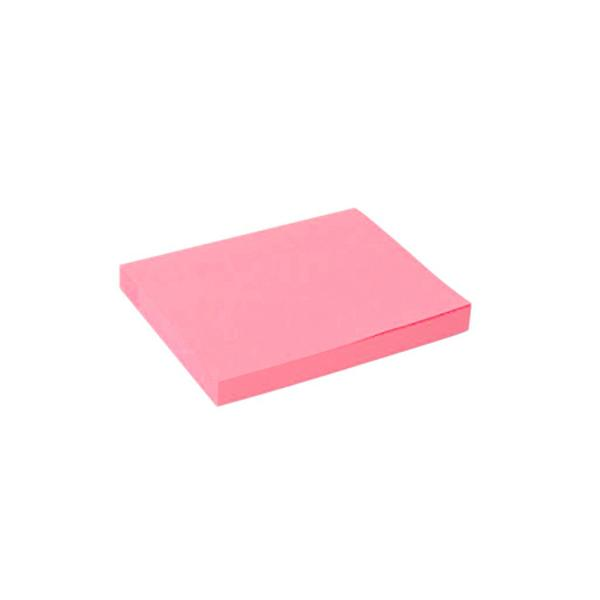 POST-IT ROZ NEON 75X100 100B PLATINET