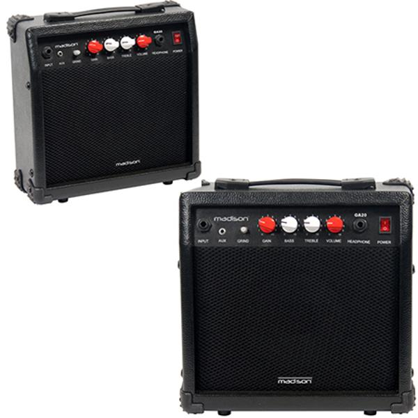 AMPLIFICATOR CHITARA 20W NEGRU MADISON