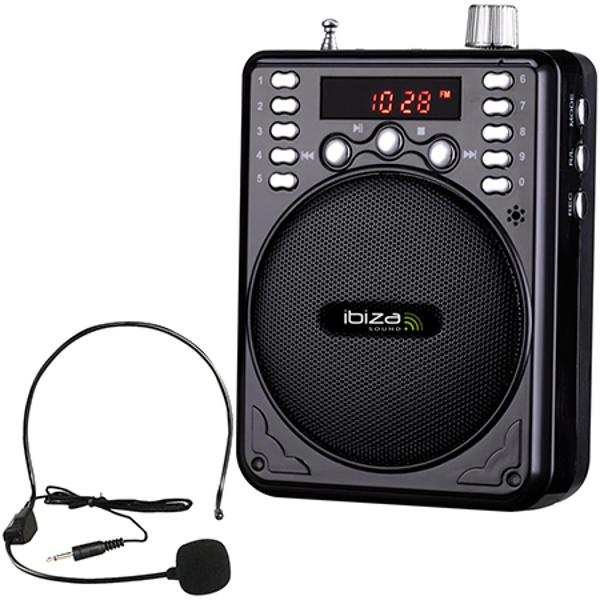 (PORT1-BT) MINI BOXA PORTABILA 30W FM/USB/MP3/BT