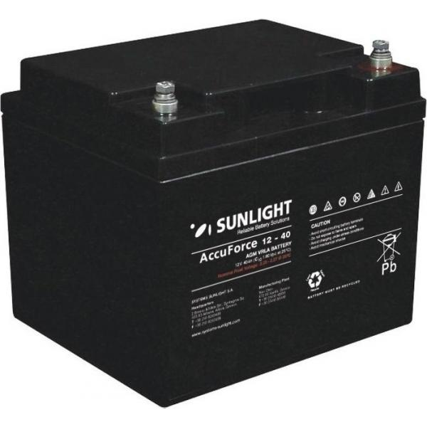 Acumulator Sunlight AccuForce 12V 40Ah